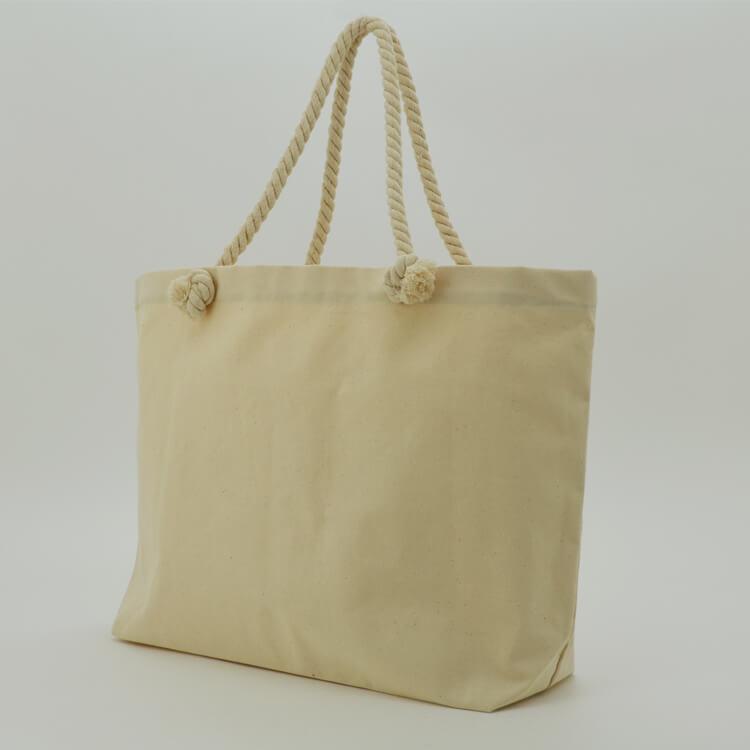 2018 Hot Selling Eco Bag Canvas Beach Bag Custom Canvas