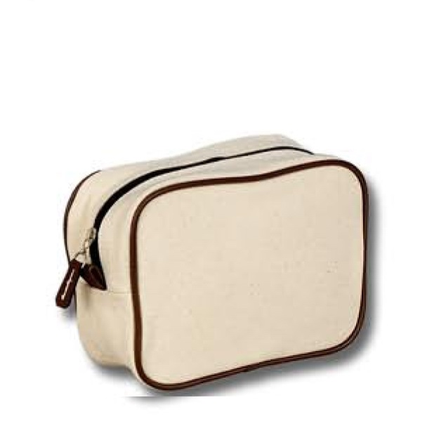 1812 PE coated cotton cosmetic bag cd81187a0decd